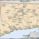 Connecticut | Flag, Facts, Maps, & Points Of Interest | Britannica With Connecticut State Map With Counties And Cities