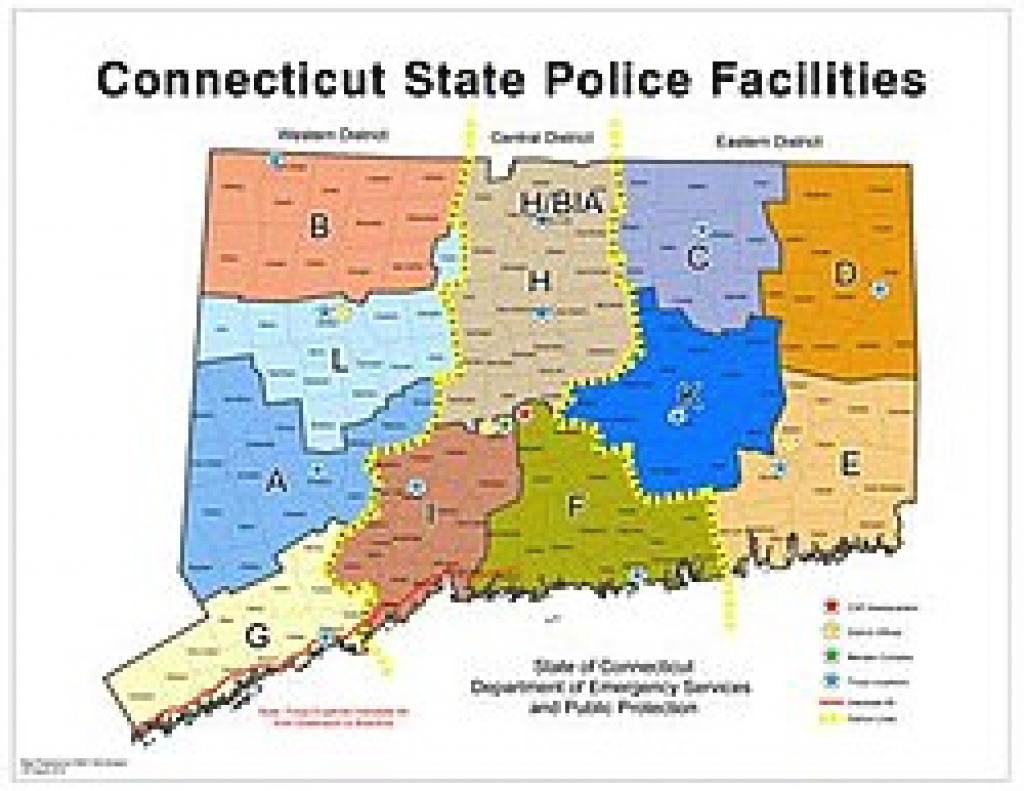 Connecticut State Police - Wikipedia with regard to Pa State Police Barracks Map