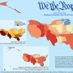 Counting The Us Population   Views Of The World Within State Population Map