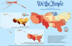 Counting The Us Population – Views Of The World within State Population Map