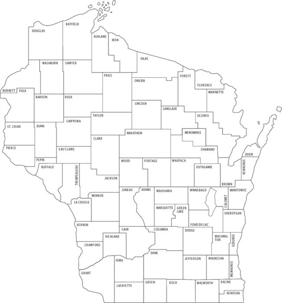 County Park Websites - Wisconsin Dnr inside Wisconsin State Campgrounds Map