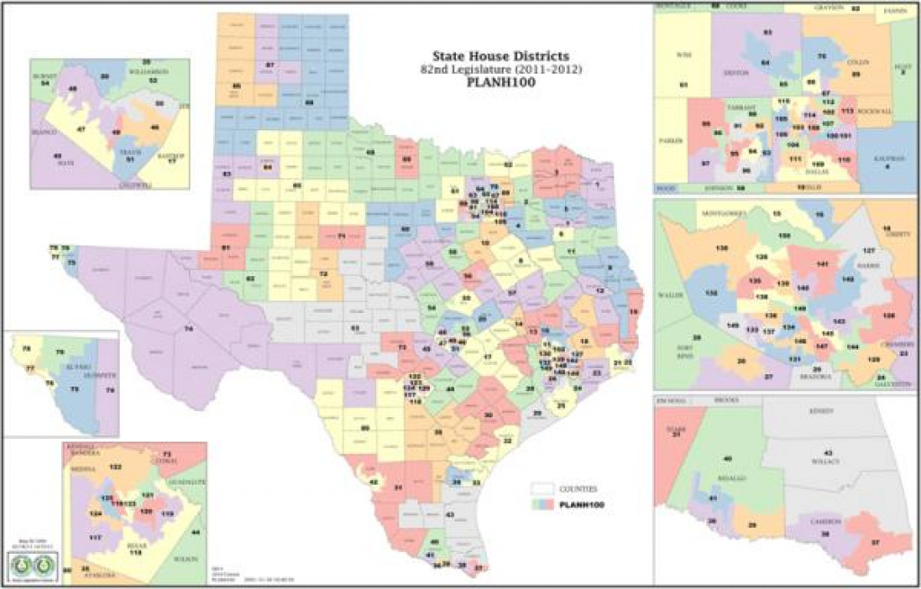 Court: Texas House Districts Unlawful, Unconstitutional: Panel Of with Texas State House District Map