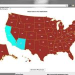 Create A Clickable (Html5) Us Map In Minutes!   Youtube Within Put The States On The Map Game