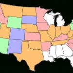 Create Your Visited States Map | Gas • Food • No Lodging Inside States I Ve Visited Map