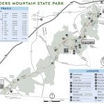 Crowders Mountain State Park   Maplets In Crowders Mountain State Park Trail Map