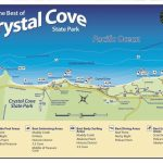 Crystal Cove State Park Map, California. | Leaving On A Jet Plane Within Crystal Cove State Beach Map