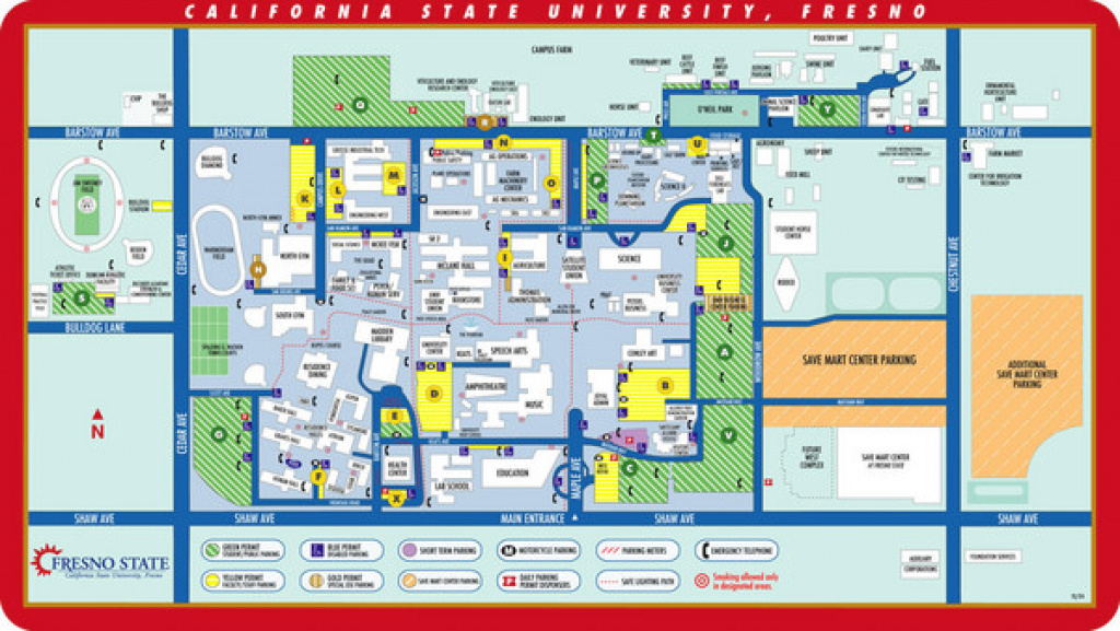 Csu Fresno Map - 5241 N Maple Ave Fresno Ca • Mappery with regard to Fresno State Campus Map