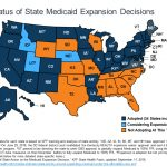 Current Status Of State Medicaid Expansion Decisions | The Henry J Intended For Medicaid Expansion States Map