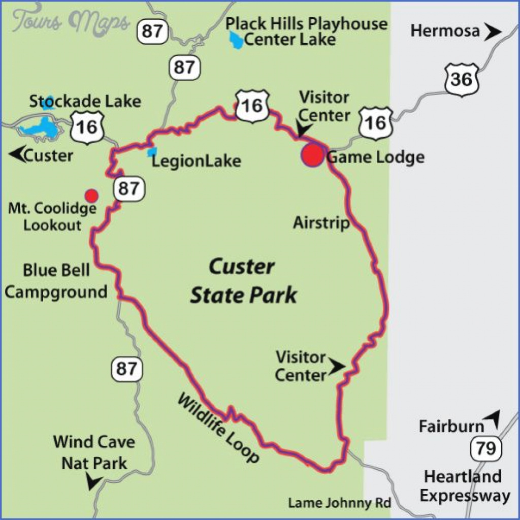 Custer State Park Map South Dakota | Why Oh Me! | Pinterest | South intended for Custer State Park Map