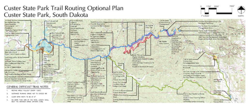 Custer State Park | Our Work | Content with Custer State Park Map