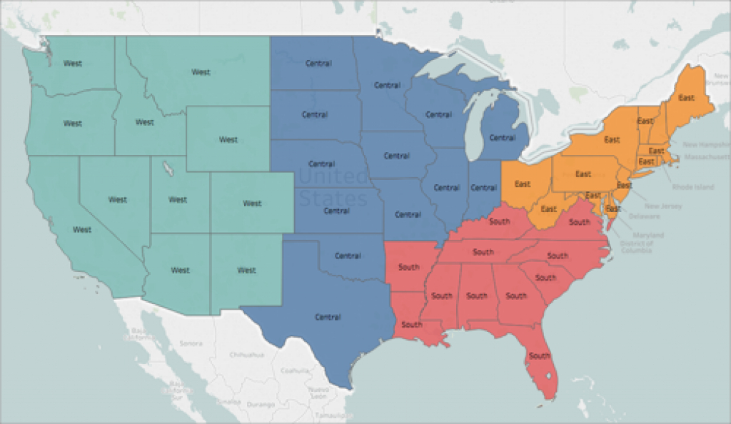 Customize How Your Map Looks pertaining to Outline Map The States Choose Sides