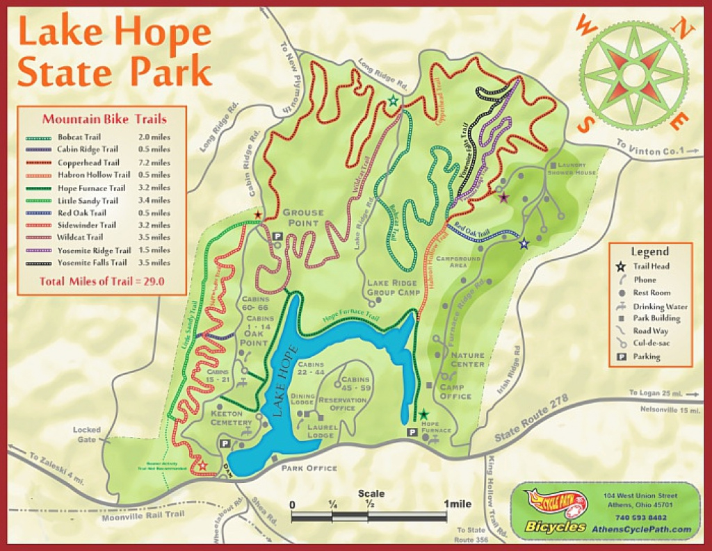 Cycle Path Bicycles | The Cycle Logical Choice In Athens Ohio for Ohio State Park Lodges Map