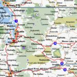 Cycling Maps For Washington State Inside Map Of Washington State Cities And Towns
