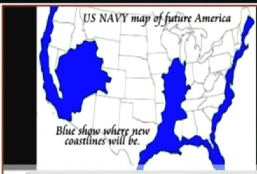 Debunked: Leaked Us Navy Map, New Madrid, Submerged Us | Metabunk regarding New Navy Map Of The United States Coastline