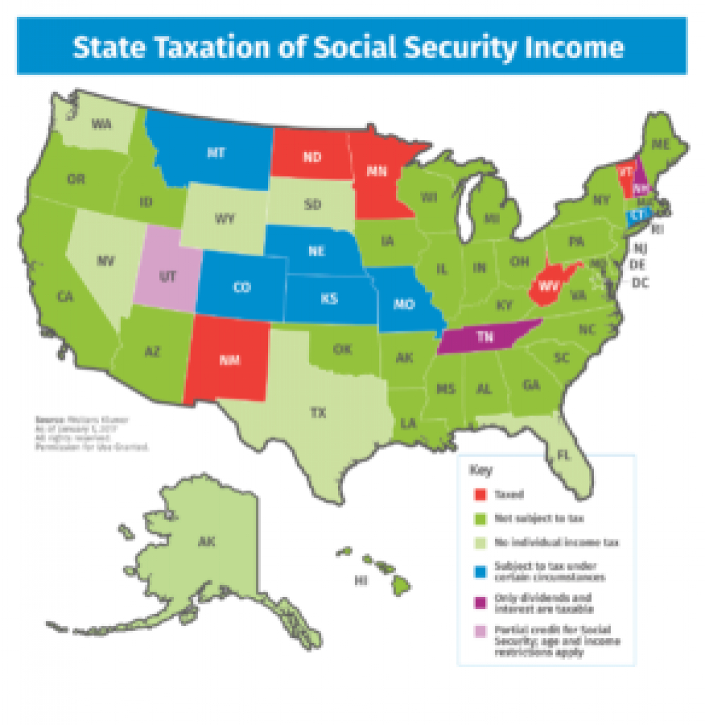 Deciding Where To Retire: Finding A Tax-Friendly State To Call Home within Tax Friendly States Map
