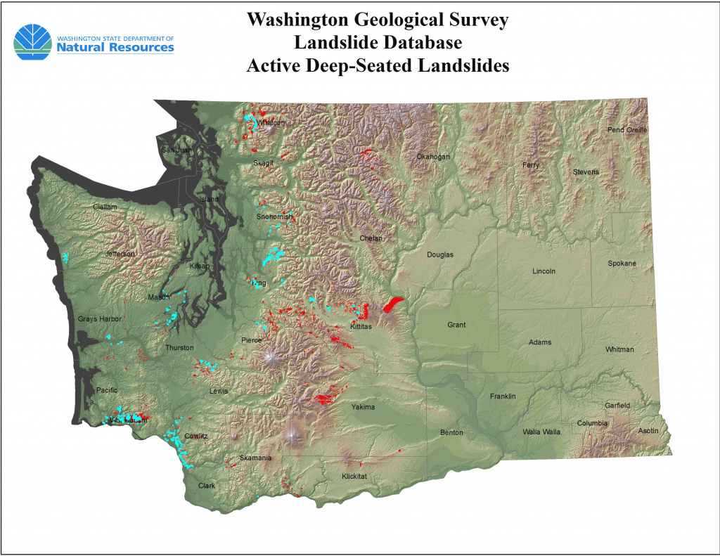 Deep-Seated Landslides | Sliding Thought Blog pertaining to Sinkhole Map Washington State