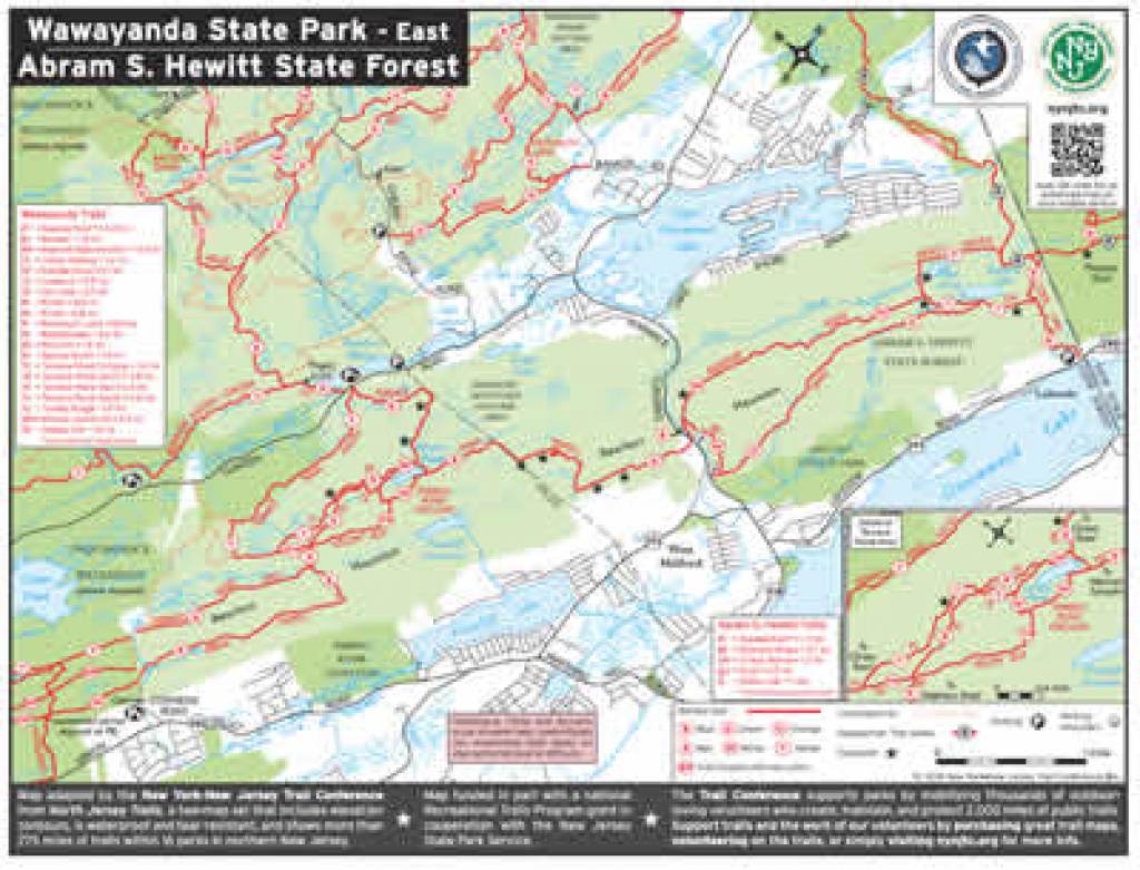 Department Of Environmental Protection pertaining to Wawayanda State Park Hiking Trail Map