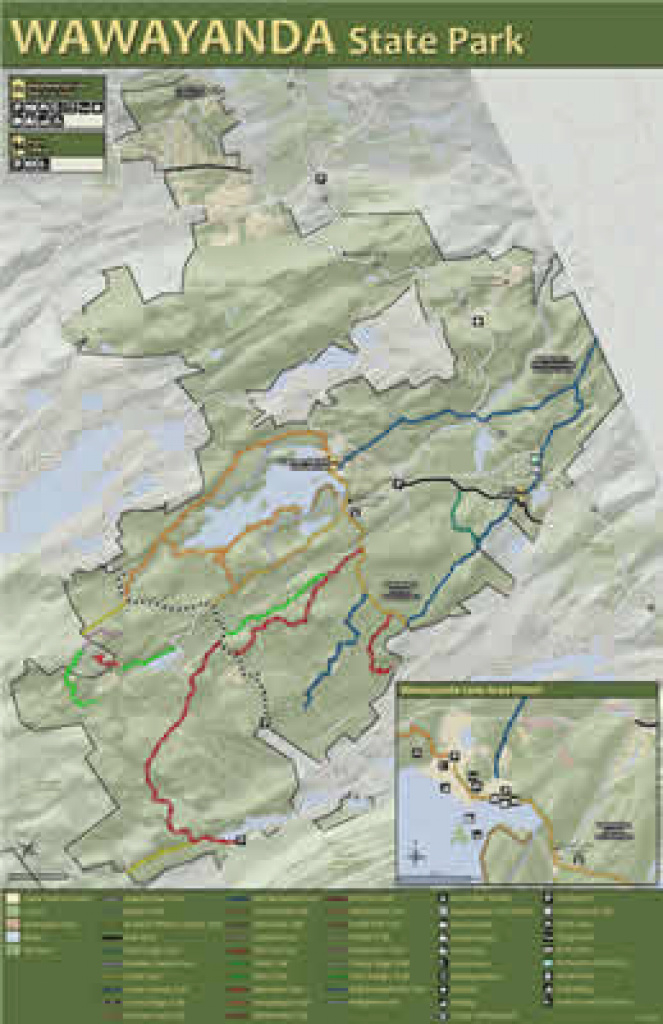 Department Of Environmental Protection regarding Wawayanda State Park Hiking Trail Map