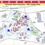 Designated Smoking Areas   Smoke Free Policy   Columbus State Within Columbus State Campus Map