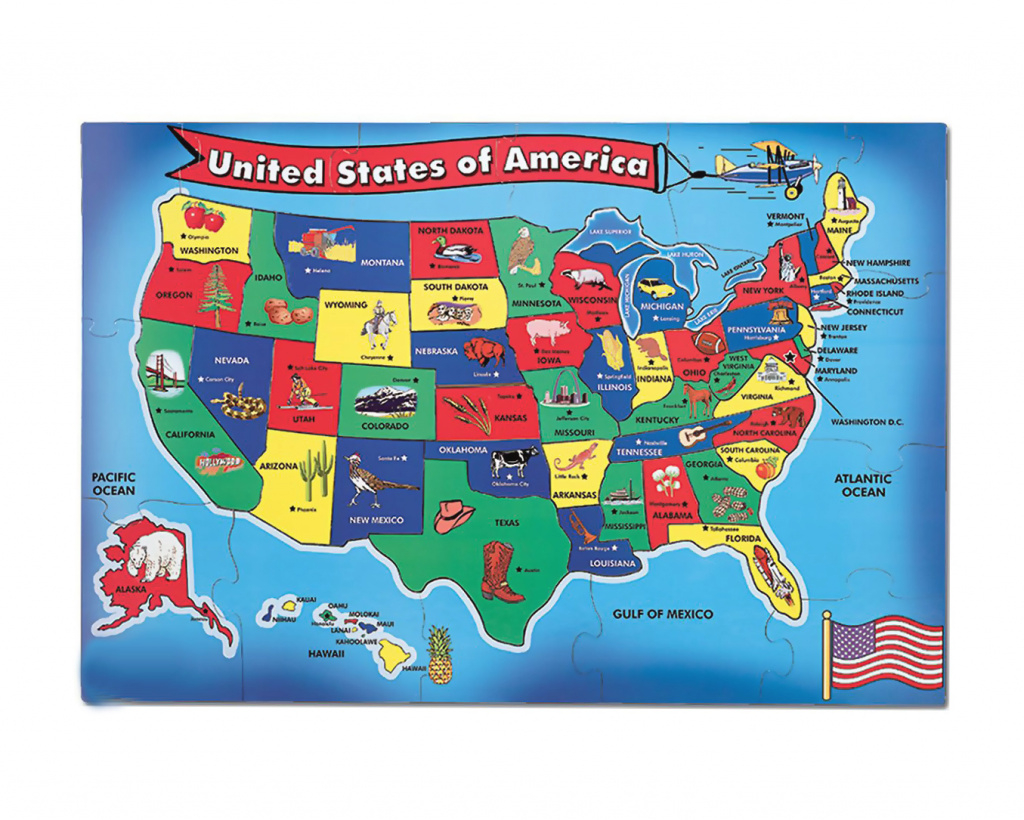 Detailed Kids Major Tourist Attractions Map Of The Usa | Usa | Maps with United States Map For Kids