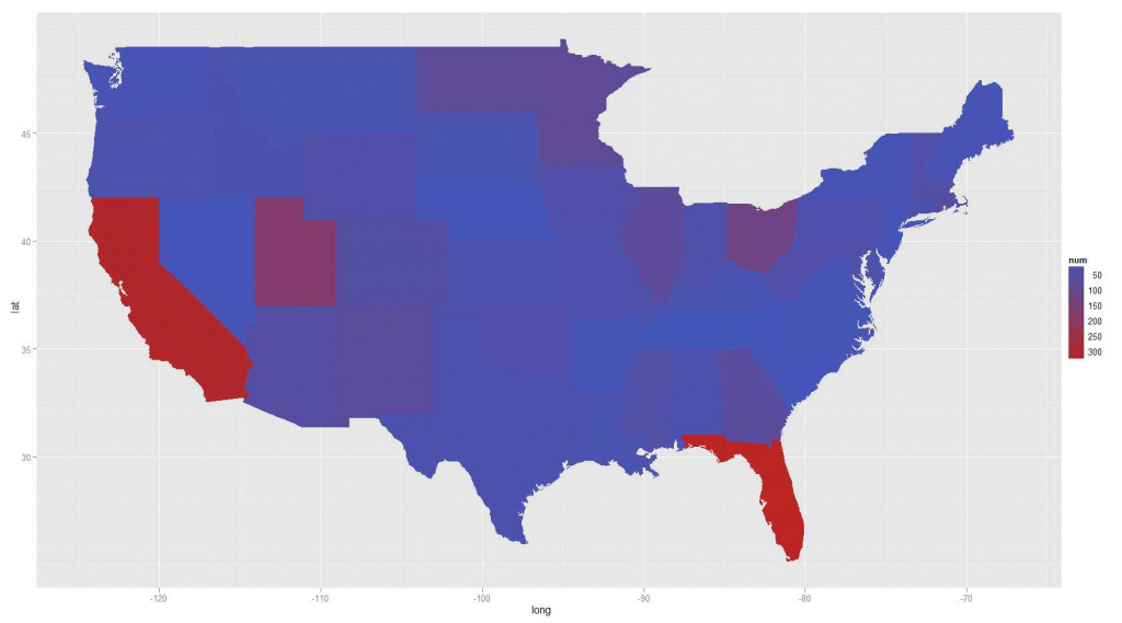 Dictionary - Create A Heatmap Of Usa With State Abbreviations And intended for Create A State Map