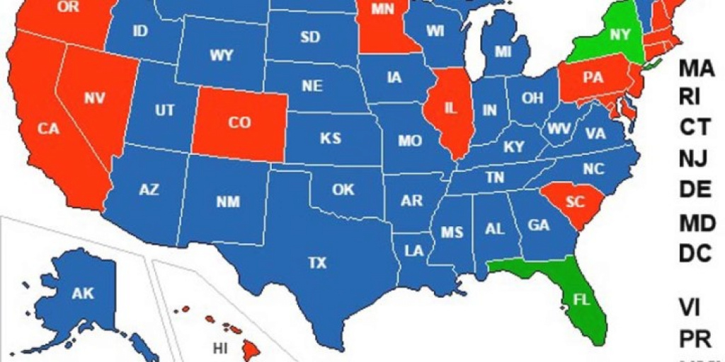 Did You Know There's An Interactive Concealed Carry Reciprocity Map regarding Concealed Carry States Map 2016