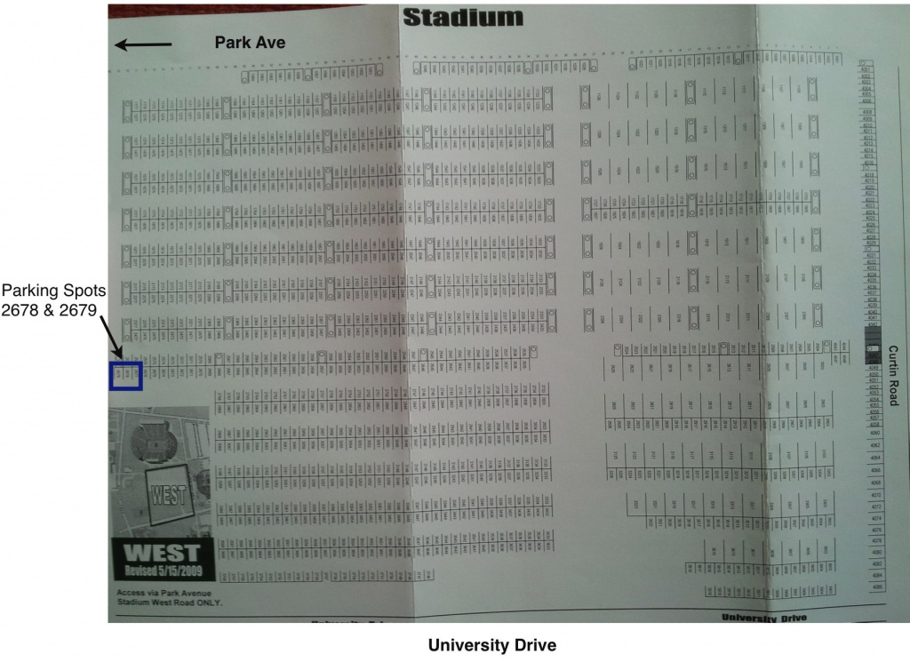 Diesel Tailgate - Maps with regard to Penn State Football Parking Green Lot Map