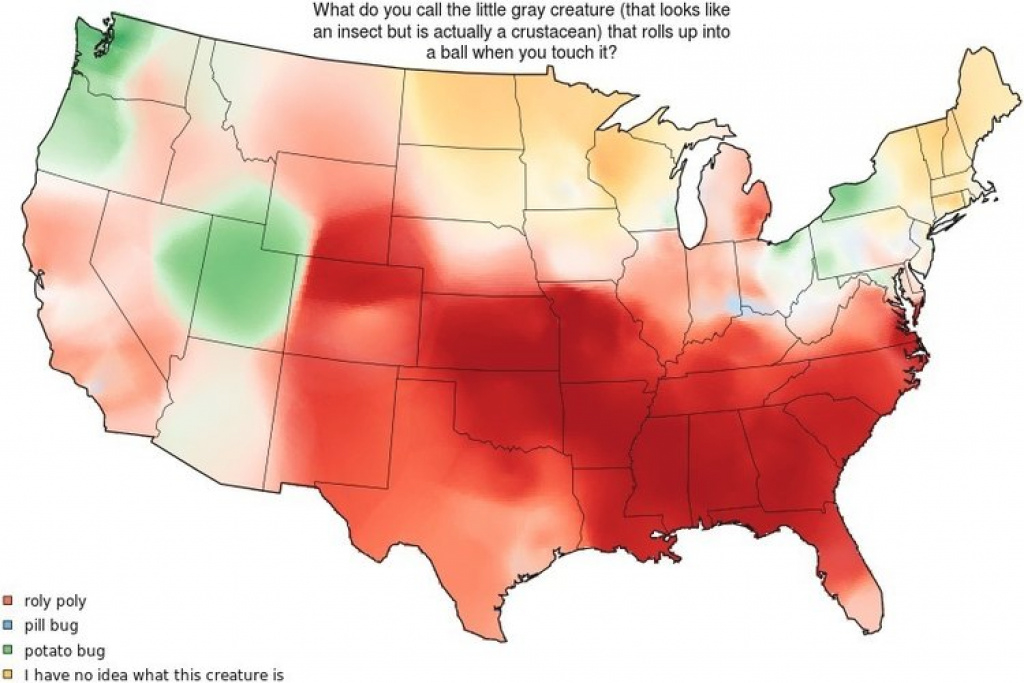 Different American English Dialects, In 27 Fascinating Maps for United States Accent Map
