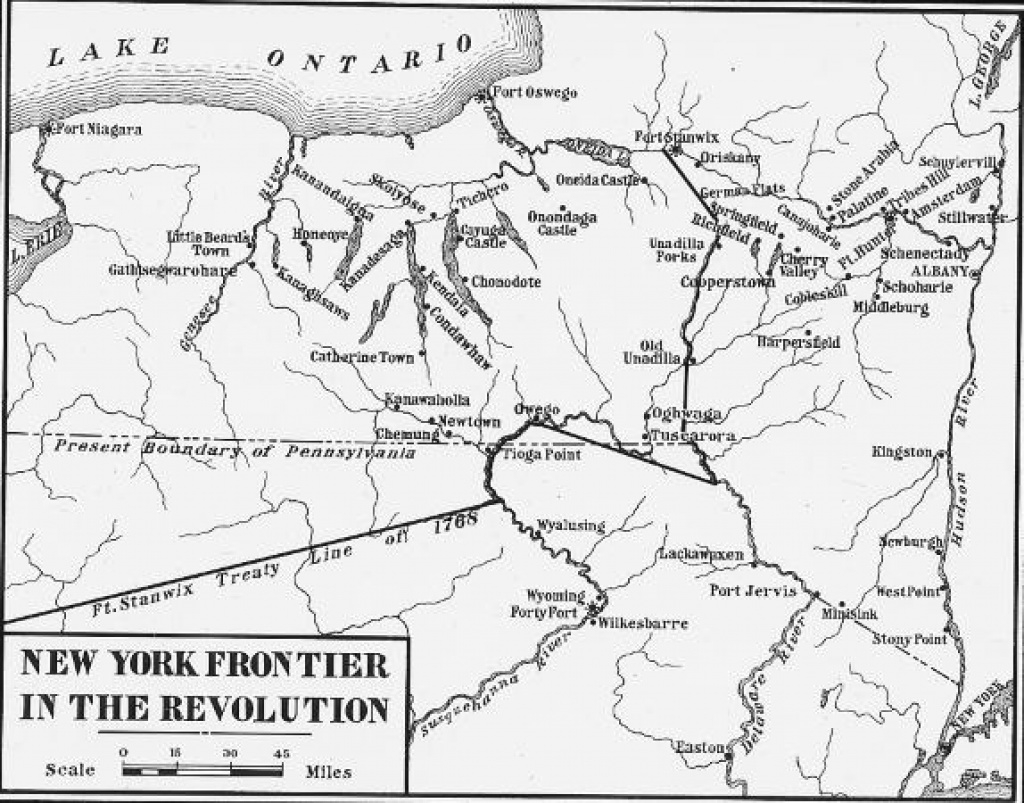 Digital Collections | New York State Archives with regard to New York State Revolutionary War Map