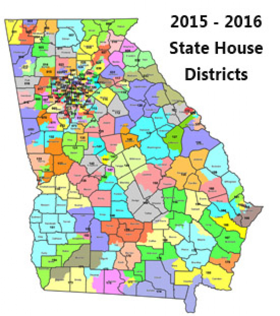 District Information in Georgia State Senate District Map