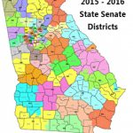 District Information Inside Georgia State House District Map