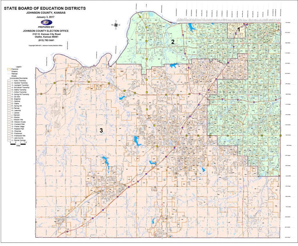 District & Precinct Maps – Johnson County Democratic Women pertaining to Kansas State Senate Map