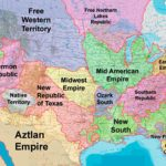 Divided States Of America   Tv Tropes Intended For Disunited States Of America Map