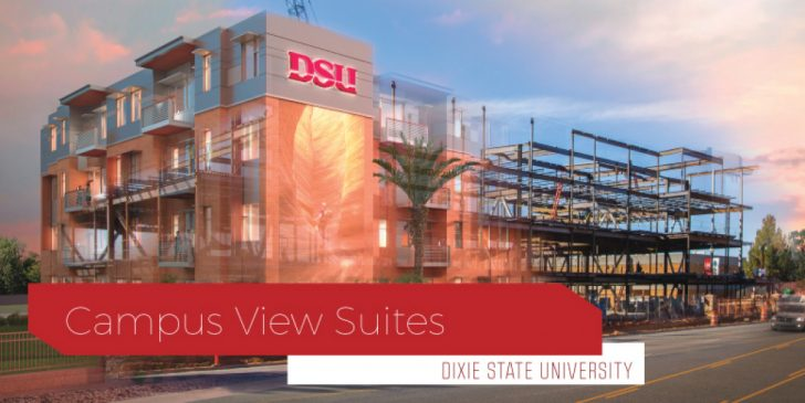 Dixie State University Campus Map
