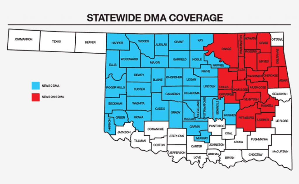 Dma Map - Tulsacw: Tv To Talk About | The Tulsa Cw pertaining to Dma Map By State