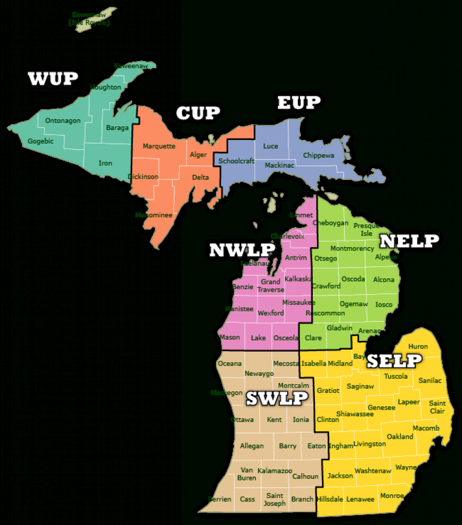 Dnr - Find A Forester regarding Michigan State Forest Map