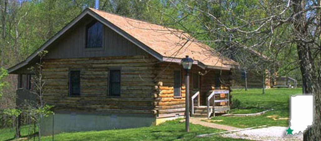 Dnr: Harmonie State Park in Indiana State Park Lodges Map