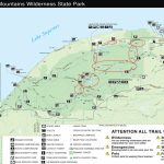 Dnr Reopens Roads At Porcupine Mountains Wilderness State Park With Regard To Map Of Porcupine Mountains State Park