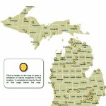 Dnr   Weekly Nature Program Schedules With Regard To Michigan State Park Campgrounds Map