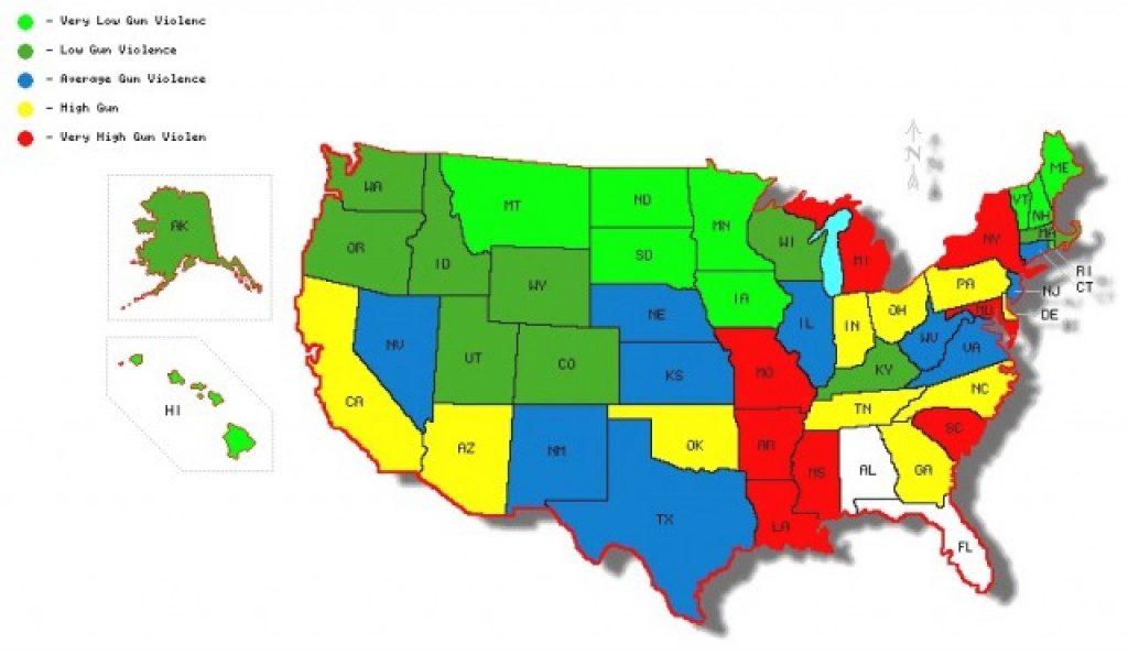 Do Strict Gun Control Laws Work? | From Bob Ewoldt with Gun Control Laws State Map
