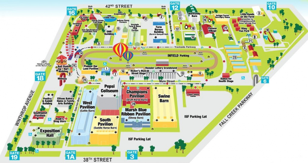 Dog Gone Happy: Indiana State Fair pertaining to Indiana State Fair Map