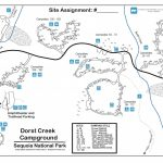 Dorst Creek Campground   Sequoia & Kings Canyon National Parks (U.s. Within Oak Mountain State Park Campground Map