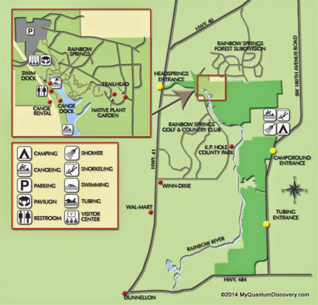 Dunnellon, Fl – Rainbow Springs State Park Review – My Quantum Discovery with regard to Rainbow Springs State Park Campground Map
