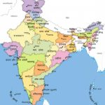 भारत का मानचित्र   Bharat Ka Naksha | My India With Map Of India With States And Cities Pdf