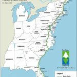 East Coast Greenway   Delaware Greenways Inside East Coast States Map