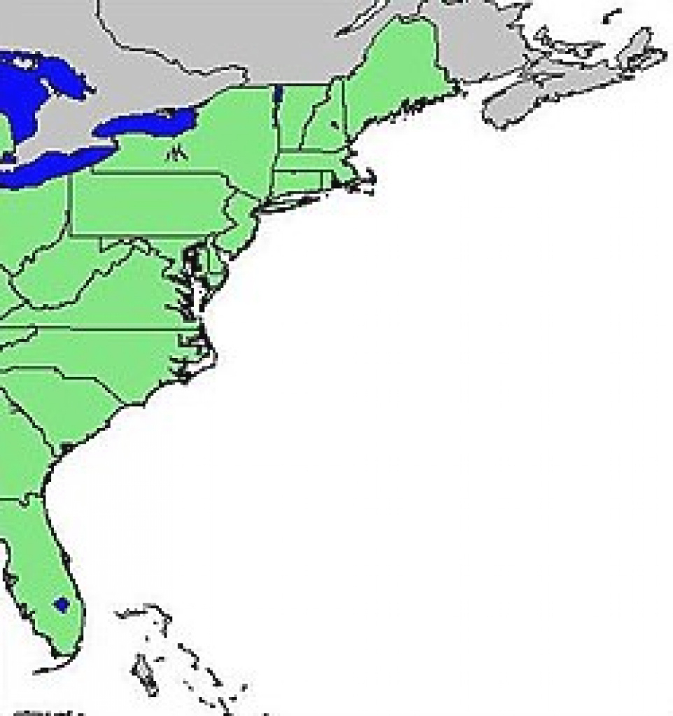 East Coast Of The United States - Wikipedia with regard to East Coast States Map