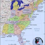 East Coast Of Us Map Printable Us Map Of States East Coast Map Of Pertaining To East Coast States Map