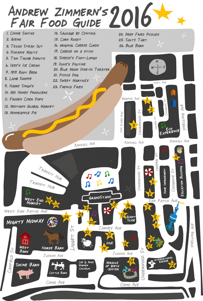 Eat Your Way To Victory In The #azfairfavs Instagram Giveaway within Mn State Fair Food Map