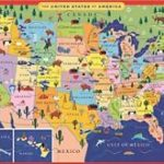 Eeboo United States Usa Map Puzzle For Kids 20 Pieces | Ebay With Regard To United States Product Map