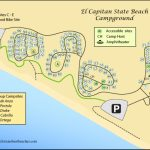 El Capitan Beach And Refugio Beach Camping Throughout Carpinteria State Beach Campground Map